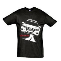 Μπλουζάκι με τύπωμα Nissan Qashqai New Road