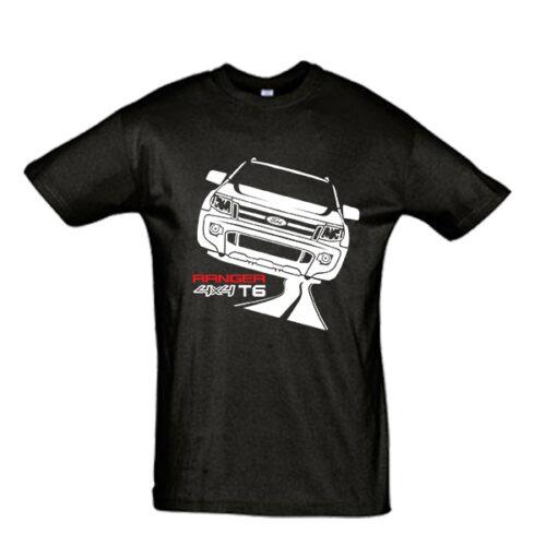 Μπλουζάκι με τύπωμα Ford Ranger T6 Road