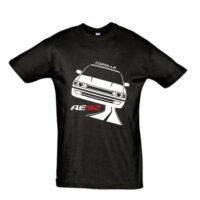 Μπλουζάκι με τύπωμα Toyota Corolla AE92 Road
