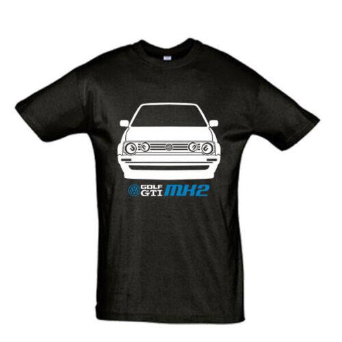 Μπλουζάκι με τύπωμα VW Golf MK2